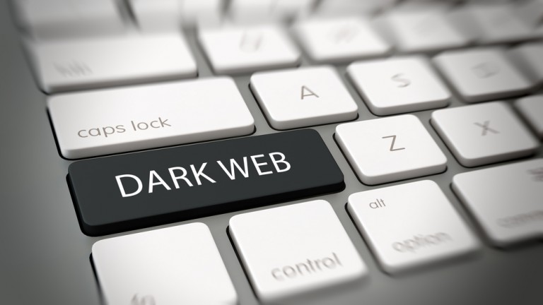 Illustration of dark web by Shutterstock.com