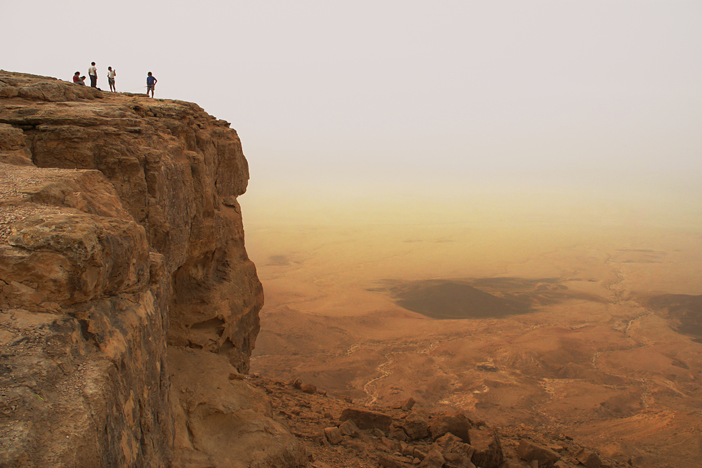 A stunning view over the Ramon crater. Photo by www.shutterstock.com