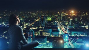 Limiting exposure to artificial light at night may be better for your health. Photo via Shutterstock.com