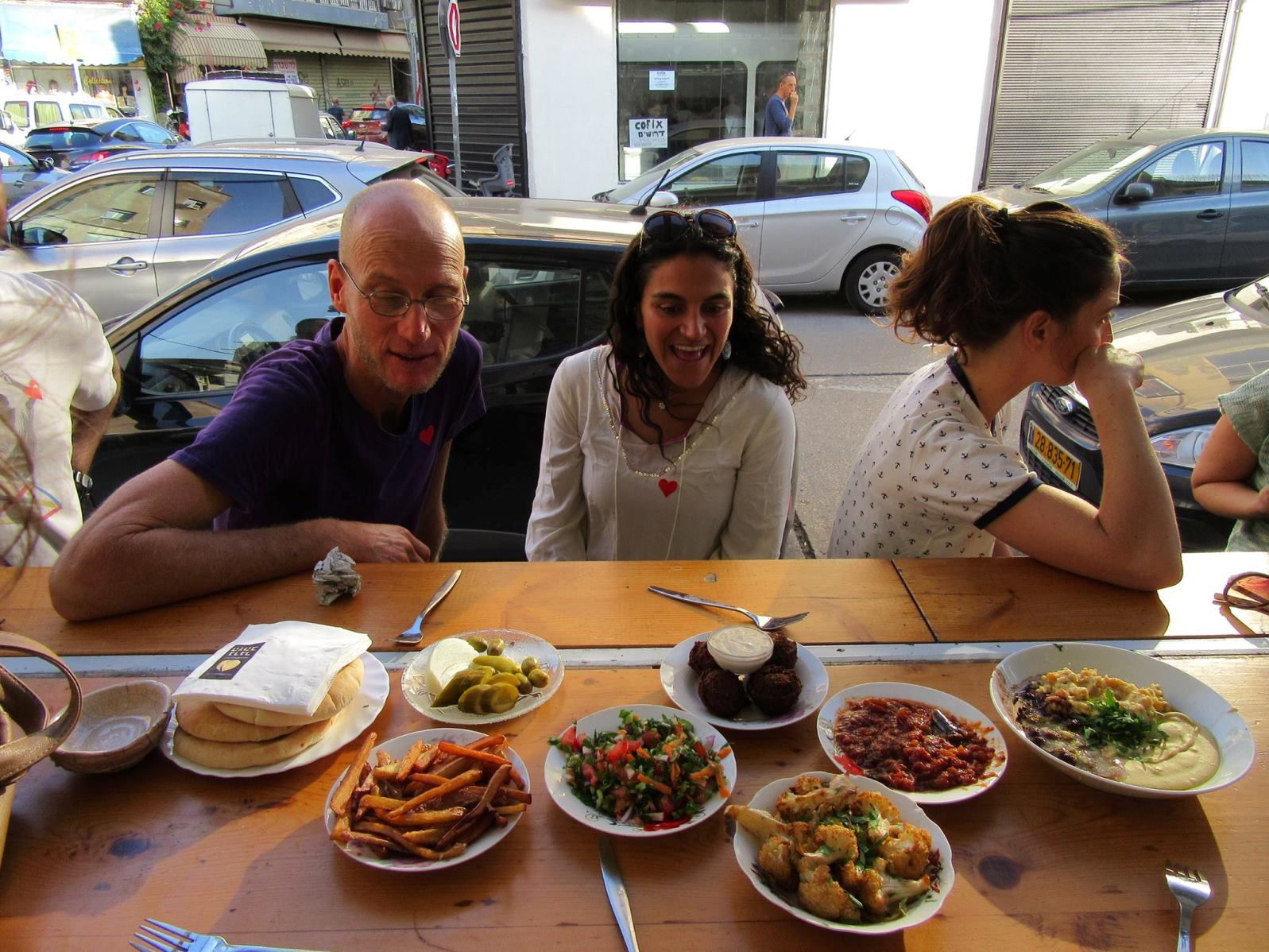 TLVEG Tours explore the burgeoning plant-based cuisine of Tel Aviv. Photo via Facebook