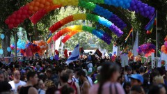 Tel Aviv Pride Parade 2015. Photo by Guy Yechiely