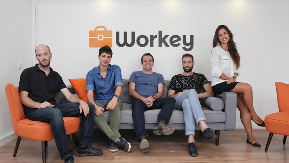 The Workey team. Photo by Omri Aharonov
