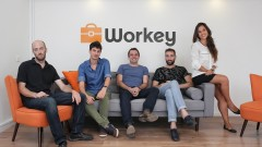 The Workey team. Photo by Omri Aharonov