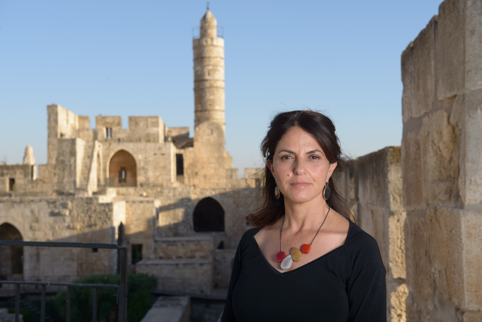 Tower of David Museum Director Eilat Lieber. Photo by Yuval Yosef