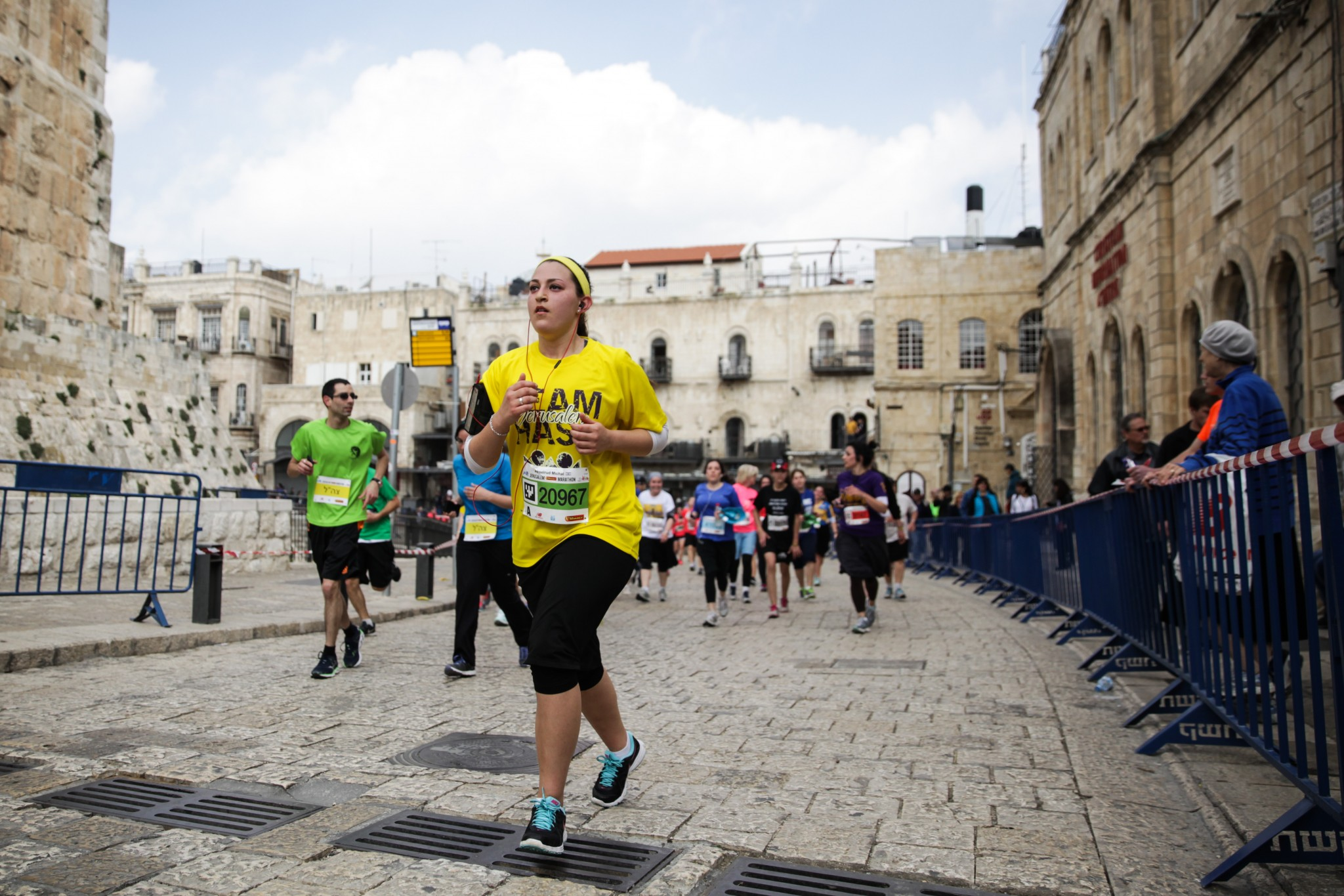 Jerusalem Marathon. Photo via Flash 90