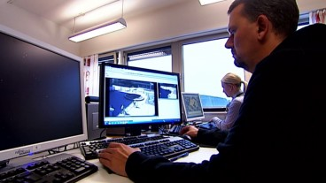 Norwegian investigators used BriefCam video synopsis technology to help them catch a bombing suspect in 2011. Photo courtesy of Norway TV 2 Nyhetskanalen