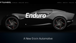 SoftWheel's Enduro offers many advantages over traditional auto wheels, including better energy efficiency and no possibility of a flat. Photo: screenshot