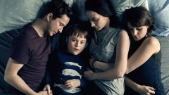 Lee Ingleby, Max Vento, Morven Christie and Molly Wright star in The A Word. Photographer: Rory Mulvey