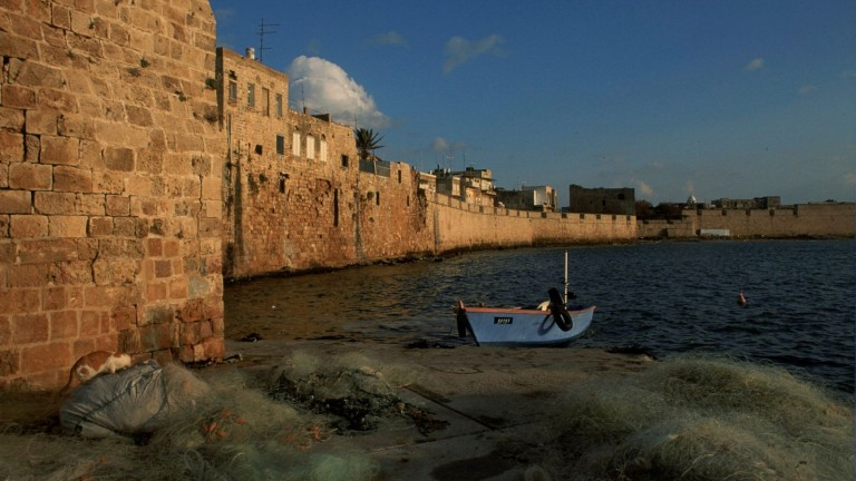 The port in Akko. Photo by Doron Horowitz/Flash90