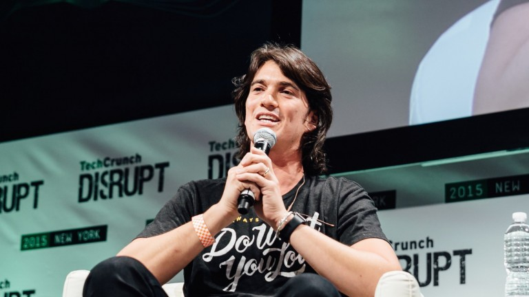 A new billionaire: WeWork's Adam Neumann. Photo by WeWork