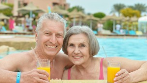 Drinking a daily vitamin-enriched cocktail could improve memory, help to reduce brain shrinkage and slow the progression of early Alzheimer's disease. Photo via Shutterstock.com