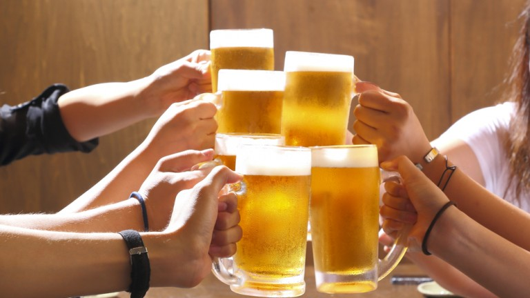 Israel's Ministry of Tourism brews up a special hummus beer for ITB Berlin. Photo by Shutterstock.com