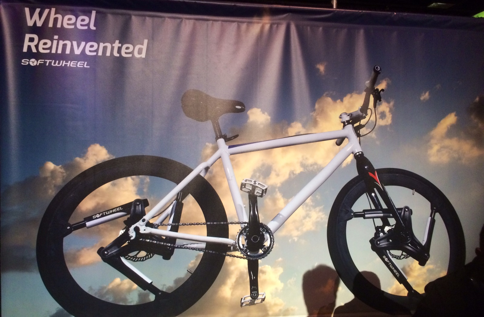 SoftWheel's display at the 2016 AIPAC Policy Conference in Washington, DC. Photo by Ben Hammer