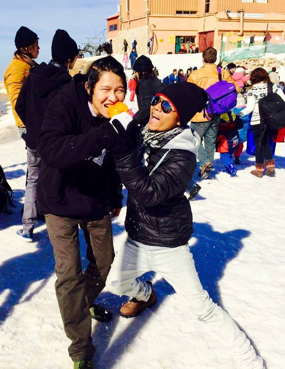 AICAT students have fun at Mount Hermon. Photo: Facebook