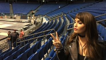 Argentinean pop star Lali Esposito. Photo via Instagram