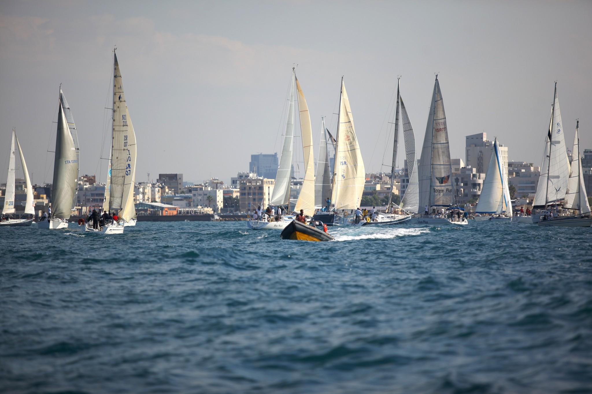 Tel Aviv coast. Photo by Efrat Saar .