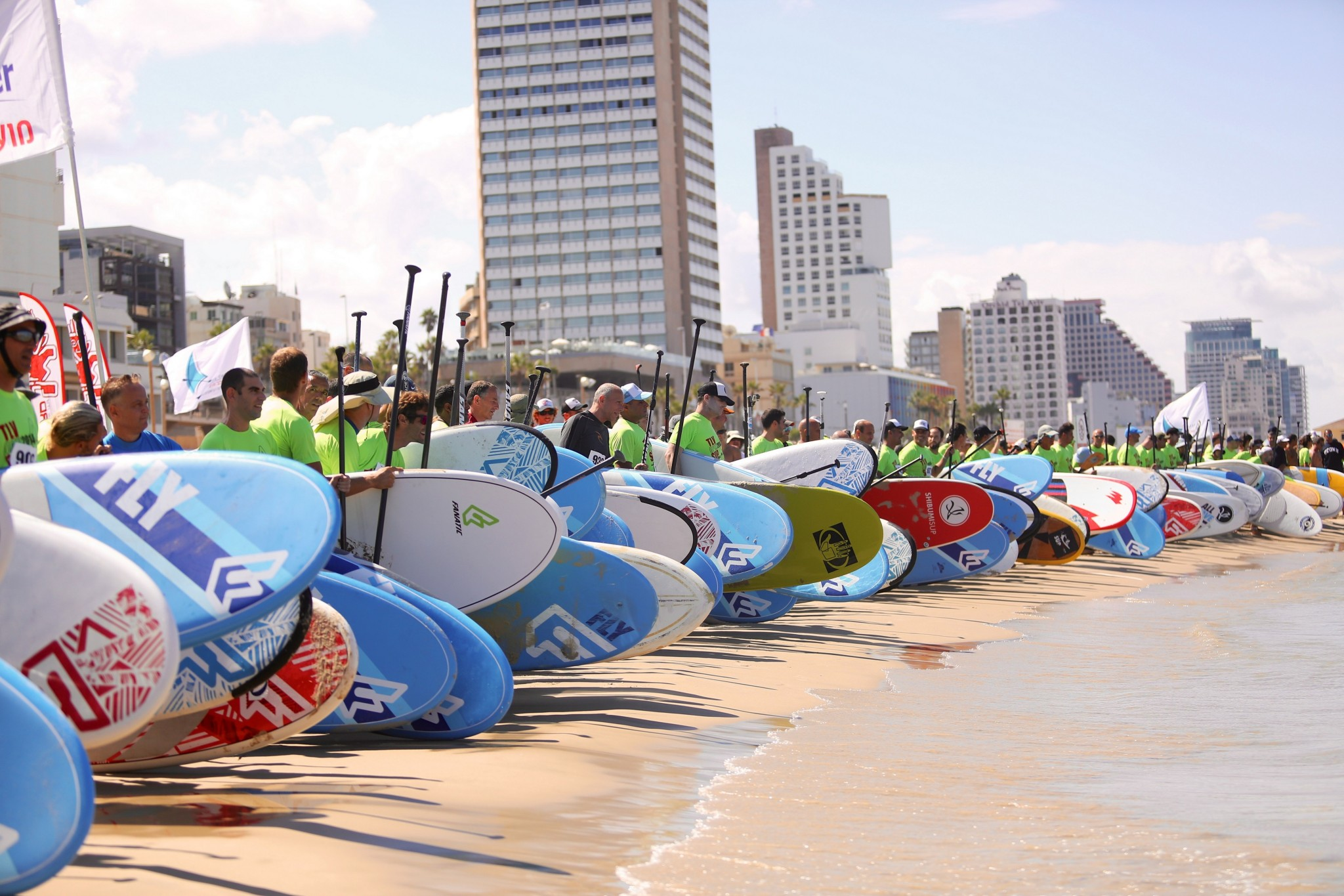 Tel Aviv water sports. Photo by Efrat Saar