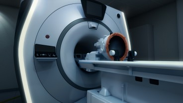 Exablate Neuro enables MRI-guided brain operations without surgery. Photo courtesy of Insightec