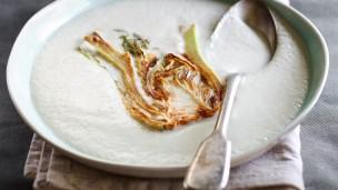 Tom Franz's fennel cream soup. Photo by Daniel Lailah