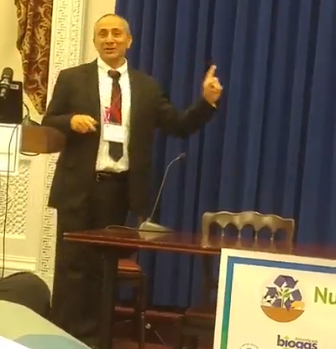 Dr. Ilan Levy, Paulee Cleantec CEO, at the White House. Photo by Oded Halperin