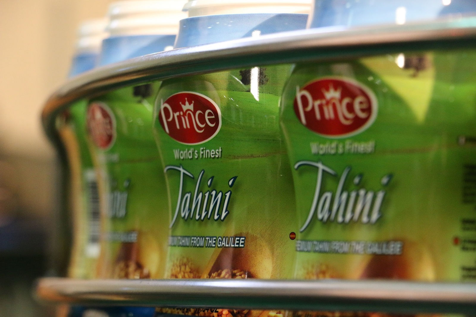 Prince Tahini on the assembly line. Photo: courtesy