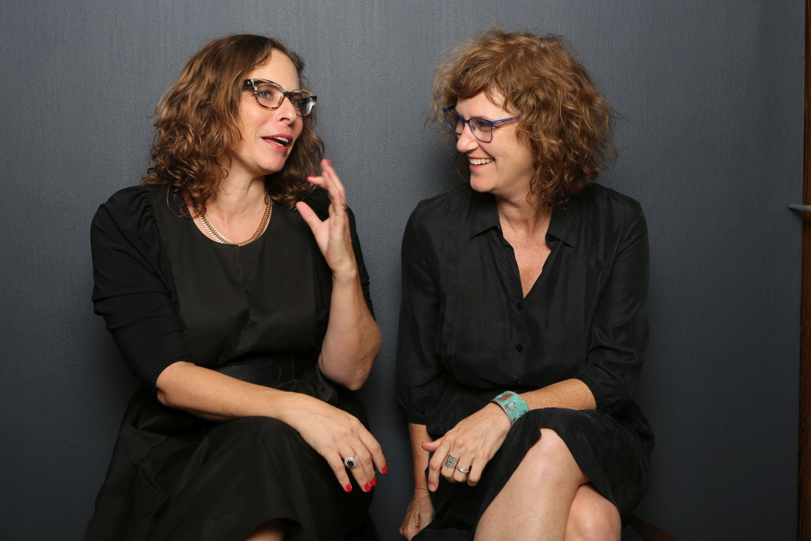 Yifat Anzelevich and Anat Shperling, the moms and brains behind Toya-Play a Difference. Photo: courtesy