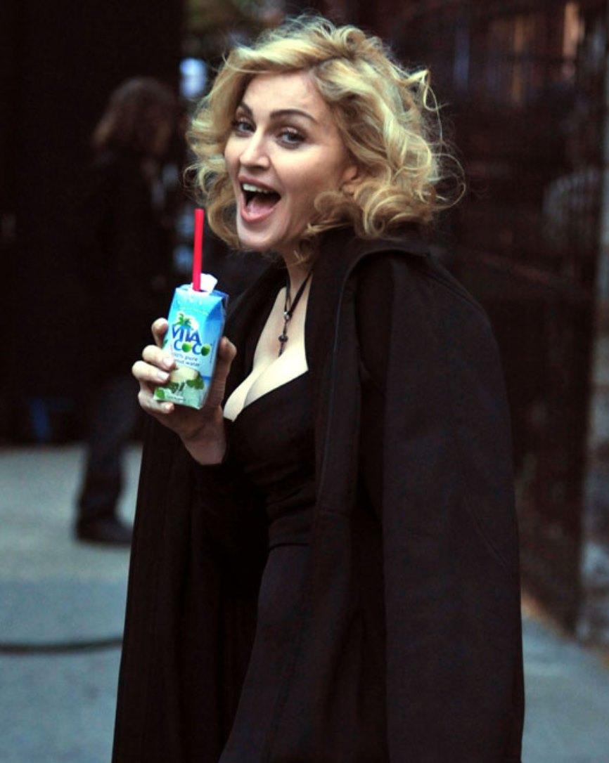 Madonna is an investor in Vita Coco. Photo: courtesy