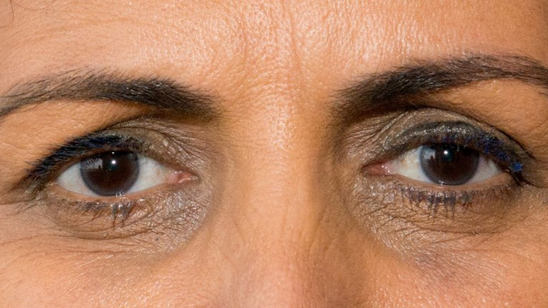 These are the eyes of singer Einat Sarouf. Photo: courtesy