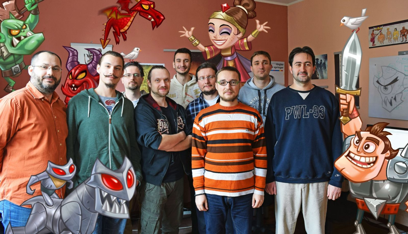 The team from TabTale. Photo: courtesy