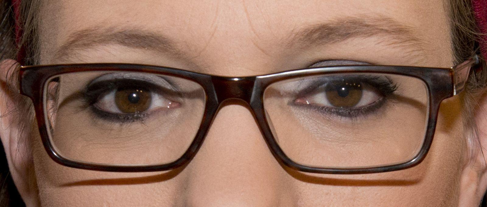 These eyes belong to Israeli news reporter Sivan Rahav-Meir. Photo: courtesy