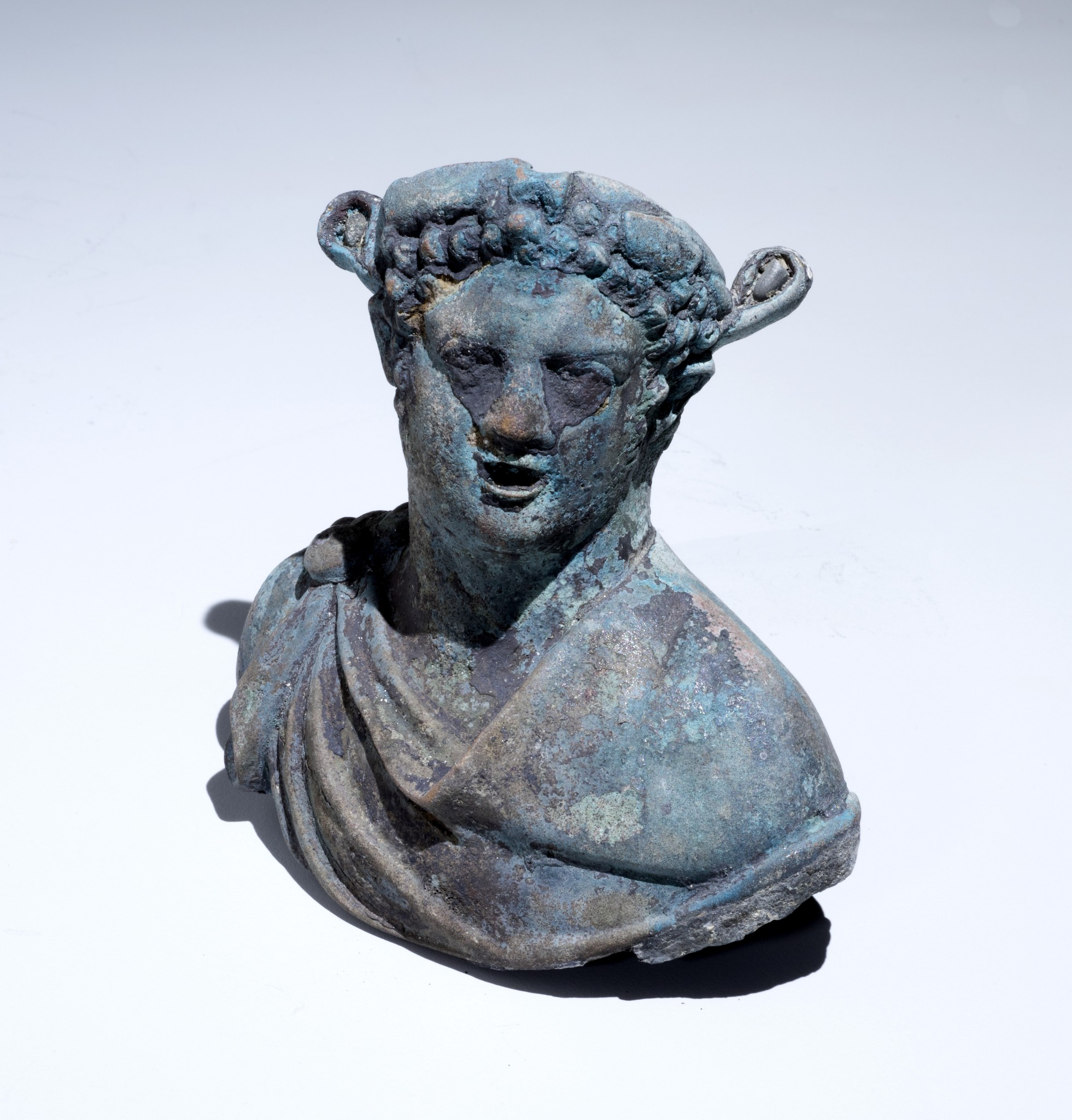 A figurine of Dionysus, the god of wine. Photo courtesy of the Israel Antiquities Authority