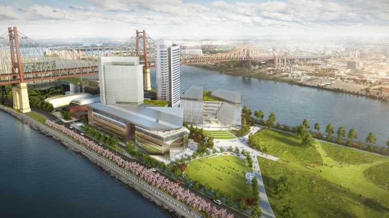 Architect's rendering of Cornell Tech's New York campus, to open in 2017.Image via http://tech.cornell.edu/future-campus