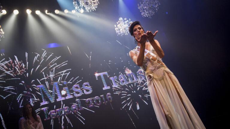Taleen Abu Hanna, a Christian Arab from Nazareth, is Miss Trans Israel. Photo by Hadas Parush/Flash90