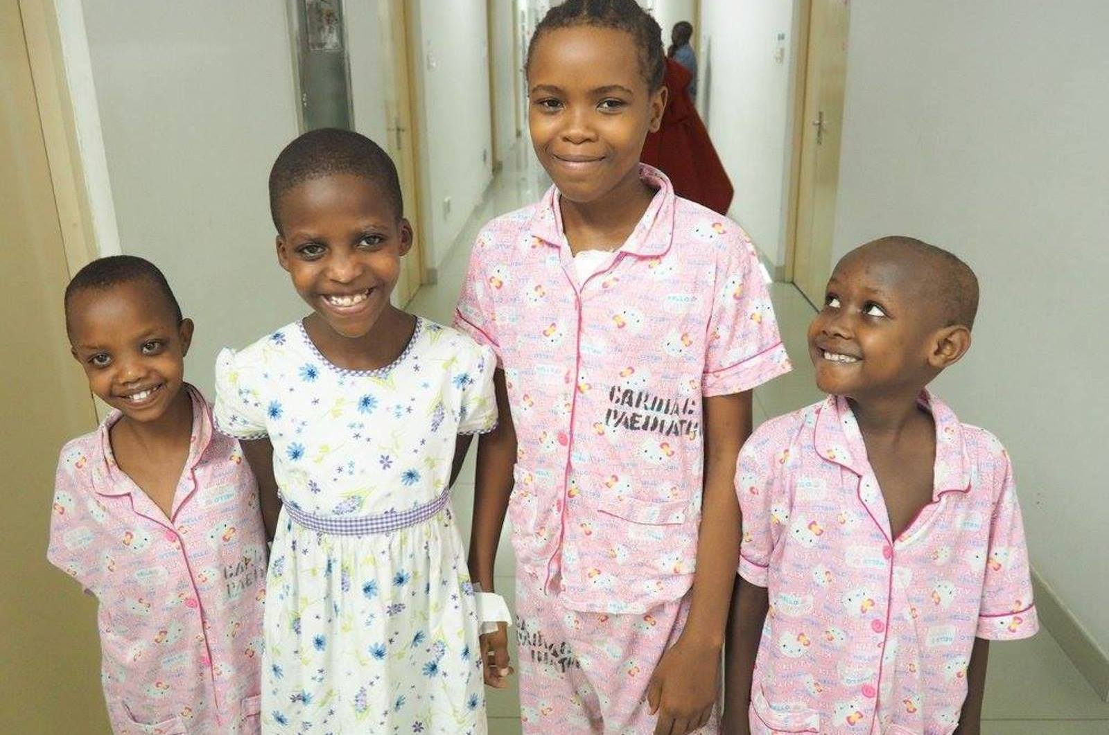 Tanzanian patients at SACH. Photo: courtesy