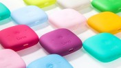 The pain-blocking wearable device comes in an assortment of colors. Photo courtesy of Livia