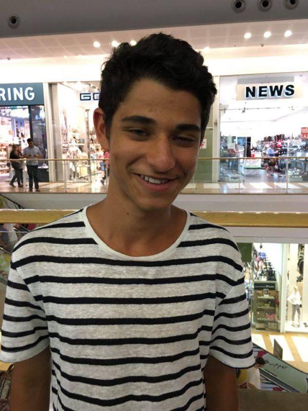 Adam Levy, 15. Photo: courtesy