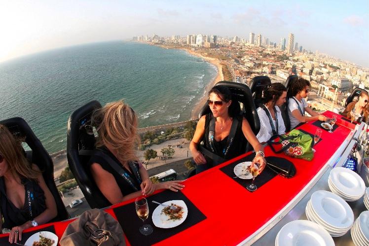 A loftier gourmet experience. Photo via Diners