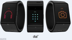 The Dial wearable tech watch packs Israeli tech. Photo via Three UK