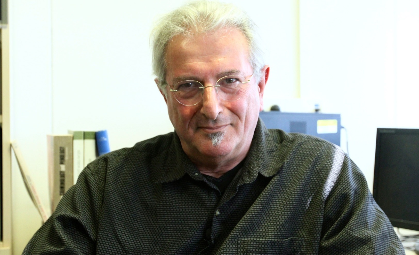 Prof. Eli Somer. Photo courtesy of University of Haifa