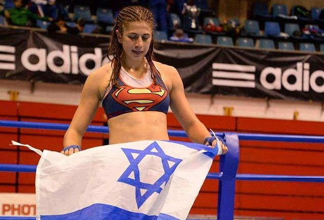 Nili Block, Muaythai World Champion. Photo via Instagram