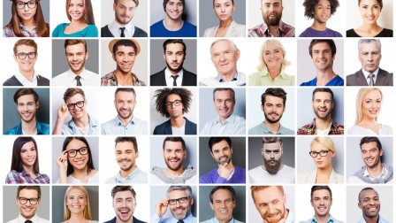 What does your face betray about your personality? Image via Shutterstock.com