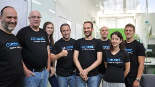 Comeet, an award­winning collaborative hiring platform for high­growth companies, announces $1.2 million seed round. Photo courtesy