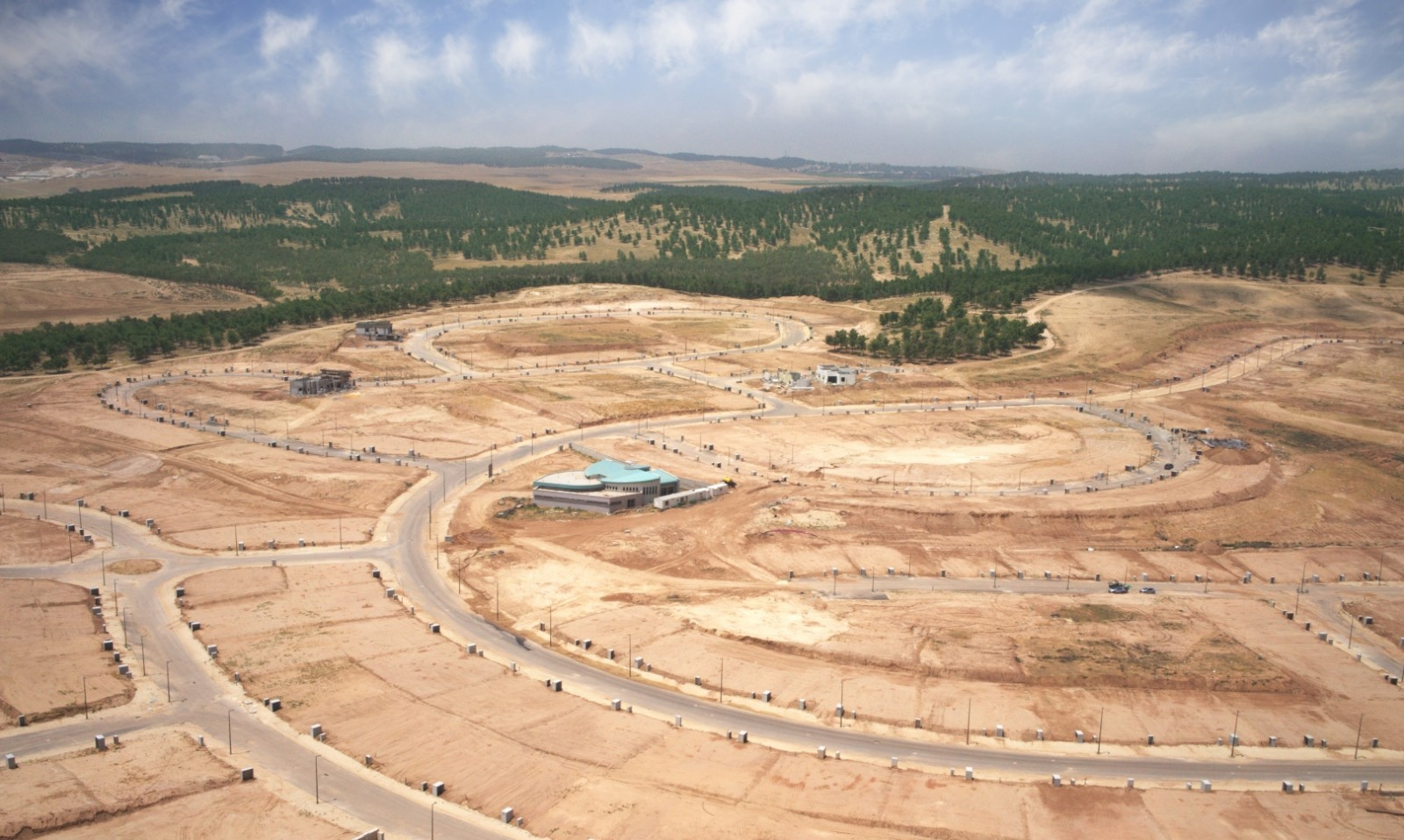 Undeveloped land in the Negev is plentiful. Photo courtesy of OR Movement