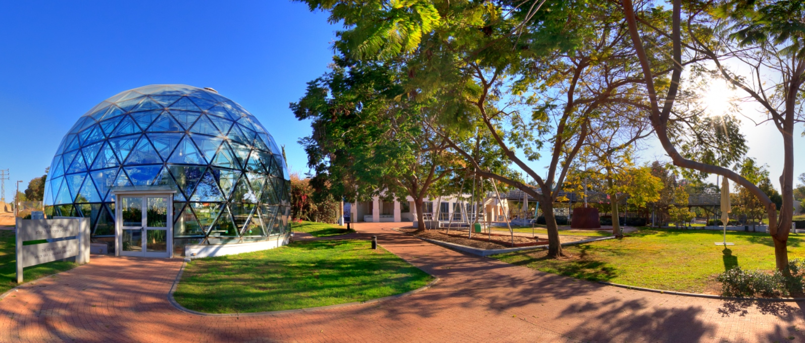The Clore Garden of Science. Photo courtesy of the Weizmann Institute of Science.