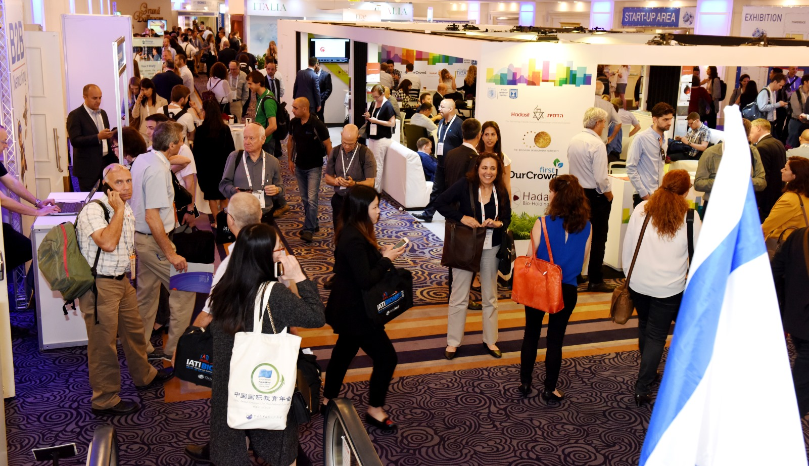 The 15th consecutive IATI Biomed drew some 6,000 participants from 45 countries to Tel Aviv. Photo: courtesy
