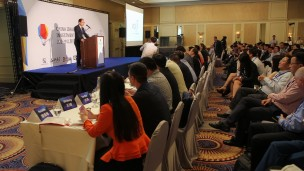 More than 100 people came to the first China-Israel Hi-tech Investments Forum. Photo: courtesy