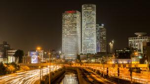 The Ayalon Highway in Tel Aviv. Photo by Alex Kourotchkin / Shutterstock.com