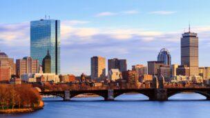 View of Back Bay Boston skyline via Shutterstock.com
