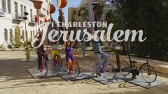 A still from the film I Charleston Jerusalem.