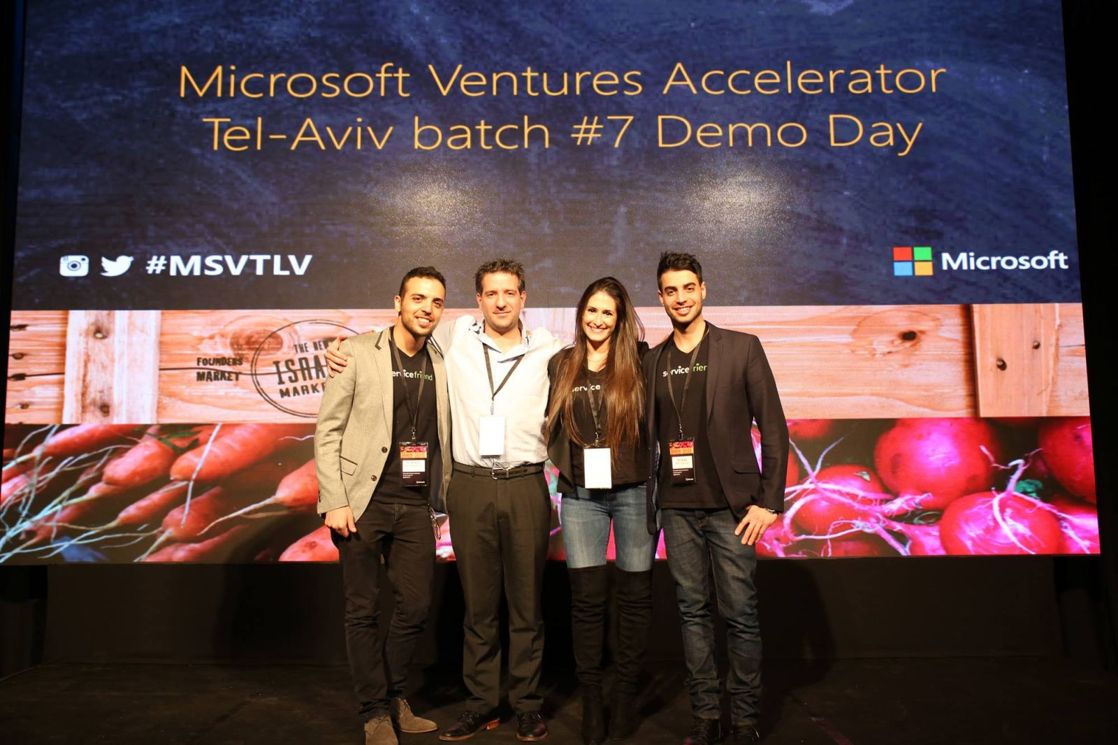 Microsoft Ventures Accelator Tel-Aviv batch Demo Day